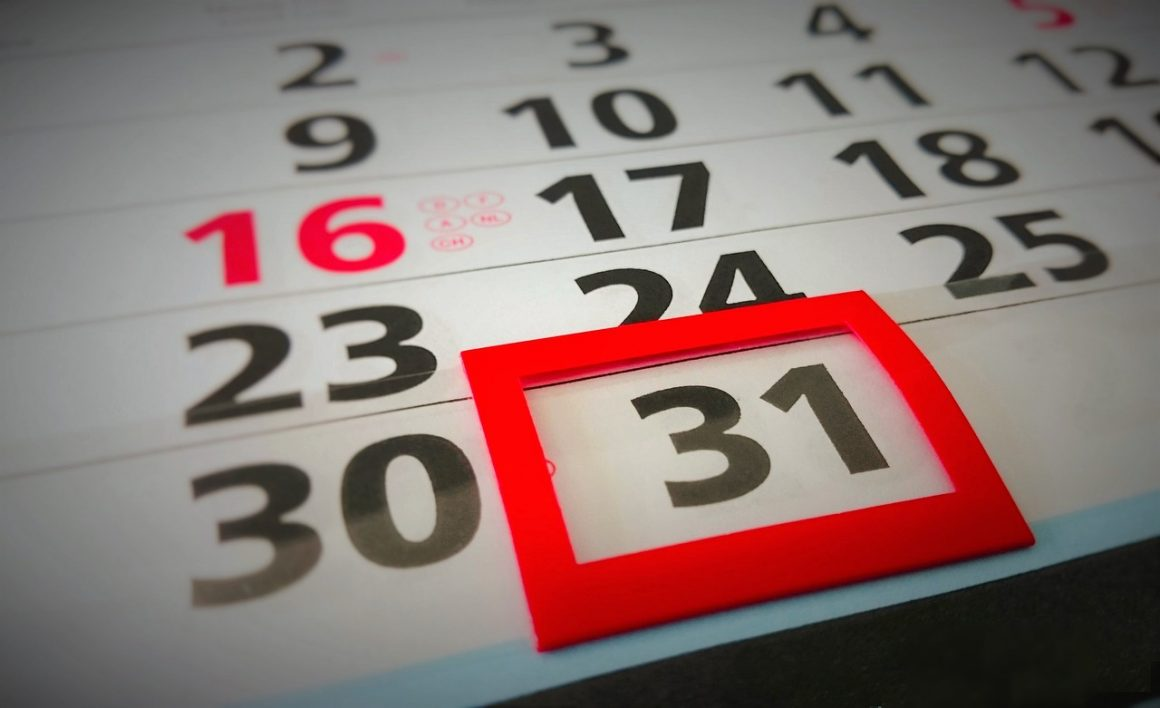 Golf Club Calendar